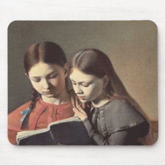 The Artist's Sisters Signe and Henriette Mouse Mat