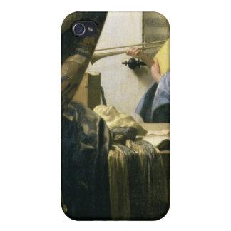 The Artist's Studio, c.1665-6 iPhone 4/4S Covers
