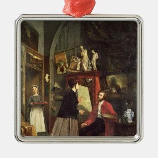The Artist's Studio Christmas Ornament