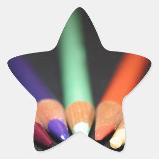 The Artist's Tools Star Sticker