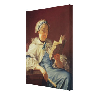 The artist's wife, 1758 (oil on canvas) gallery wrapped canvas