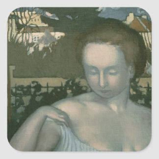 The Artist's Wife, 1893 Square Sticker