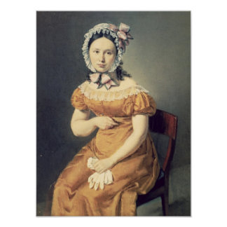 The artist's wife Catharine, 1825 Poster
