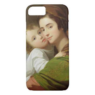 The Artist's Wife, Elizabeth, and their son Raphae iPhone 8/7 Case