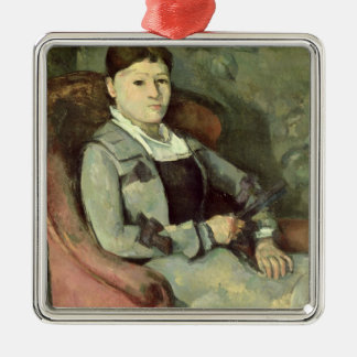 The Artist's Wife in an Armchair, c.1867 Christmas Ornament