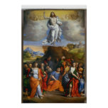 The Ascension Of Jesus Poster
