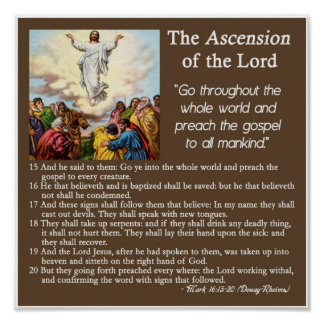 The Ascension of our Lord Poster
