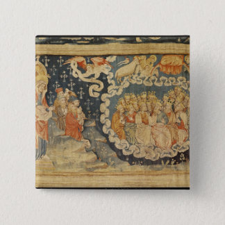 The Ascension of the Lamb 15 Cm Square Badge