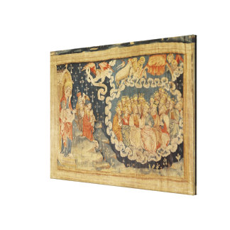 The Ascension of the Lamb Canvas Print