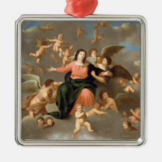 The Ascension of the Virgin Christmas Ornament