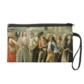 The Ascent of a Hot-Air Balloon in Madrid, detail Wristlet