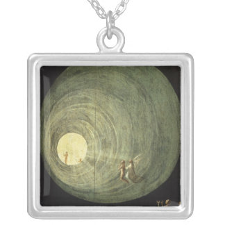 The Ascent of the Blessed Silver Plated Necklace