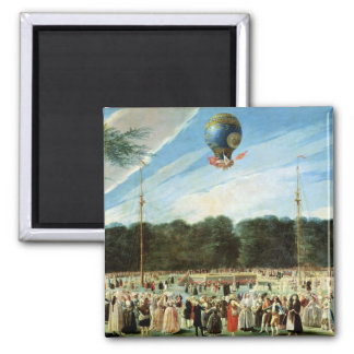 The Ascent of the Montgolfier Balloon at Square Magnet