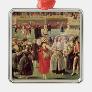 The Ascent of the Montgolfier Balloon Christmas Ornament