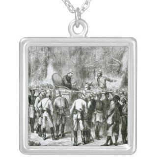 The Ashanti War Silver Plated Necklace