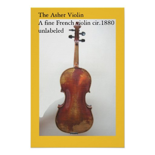 The Asher Violin II Poster