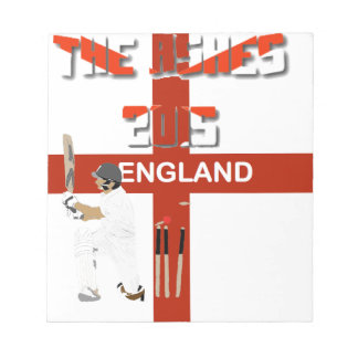 The Ashes Cricket Test 2015 Notepad