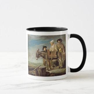 The Ass (oil on canvas) Mug