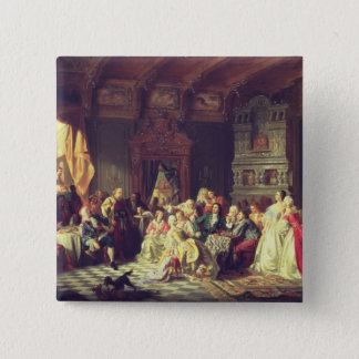 The Assembly under Peter the Great 15 Cm Square Badge
