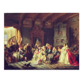 The Assembly under Peter the Great Postcard