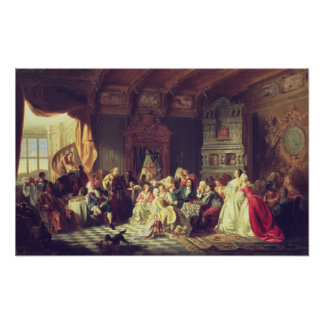The Assembly under Peter the Great Print
