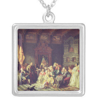 The Assembly under Peter the Great Silver Plated Necklace