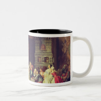 The Assembly under Peter the Great Two-Tone Coffee Mug