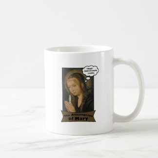 The Assumption of Mary Basic White Mug