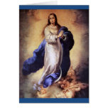THE ASSUMPTION OF THE BLESSED VIRGIN MARY GREETING CARD