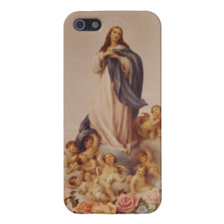The Assumption of the Blessed Virgin Mary iPhone 5 Cases
