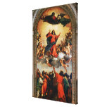 The Assumption of the Virgin, 1516-18 Canvas Prints