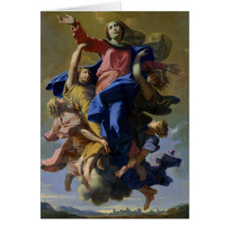 The Assumption of the Virgin, 1649-50 Card