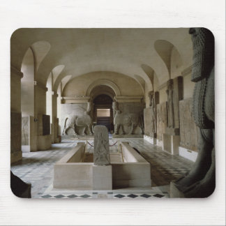 The Assyrian Room at the Louvre in Paris (photo) Mouse Mat
