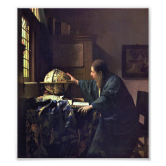 The Astronomer by Johannes Vermeer Photo