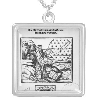 The Astronomer Silver Plated Necklace