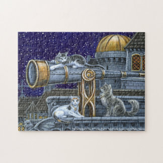 The Astronomer's Cats Fantasy Puzzle