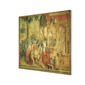 The Astronomers, woven at Beauvais Canvas Print