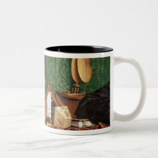 The astronomical instruments Two-Tone coffee mug
