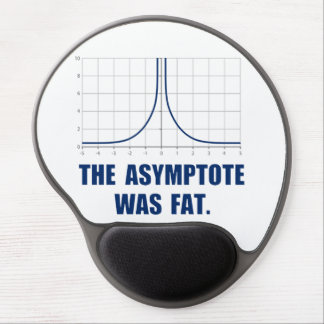 The Asymptote was Fat Gel Mouse Pad