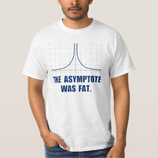 The Asymptote was Fat T-Shirt