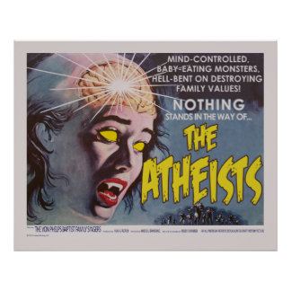 The Atheists Spoof Movie Poster Huge