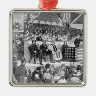 The Atlanta International Cotton Exposition Christmas Ornament