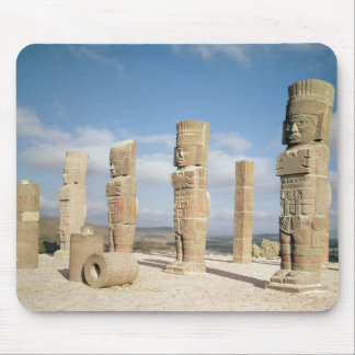 The atlantean columns on top of Pyramid B Mouse Mat