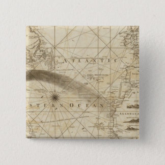 The Atlantic Ocean 15 Cm Square Badge