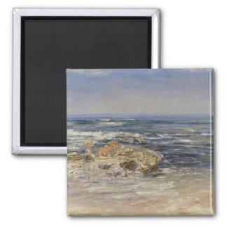 The Atlantic Surf, 1899 (oil on canvas) Magnet