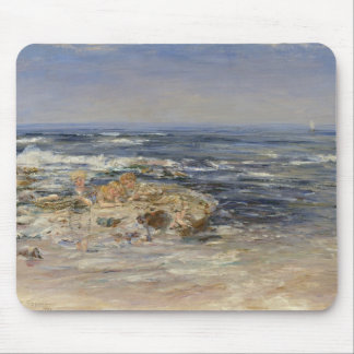 The Atlantic Surf, 1899 (oil on canvas) Mouse Mat