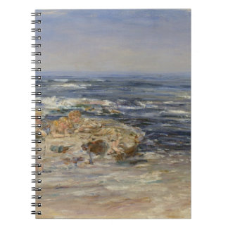 The Atlantic Surf, 1899 (oil on canvas) Notebook