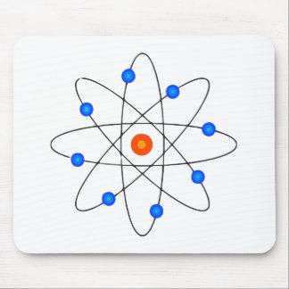 The atom mousepad