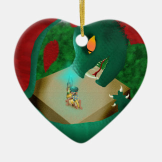 The Attack Christmas Ornament