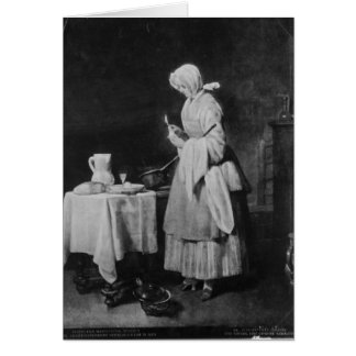 The Attentive Nurse, c.1738 Card